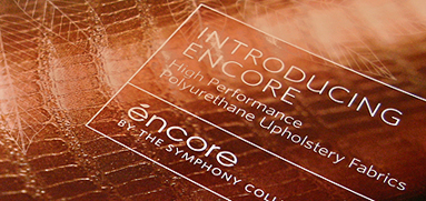 Encore print design
